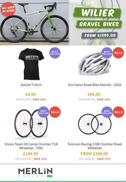 Merlin Cycles offers in the Merlin Cycles catalogue ( 4 days left)