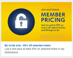 Expedia offers in the London catalogue
