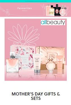 Mother's Day offers in the All Beauty catalogue ( 10 days left)