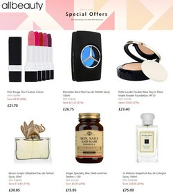 Pharmacy, Perfume & Beauty offers in the All Beauty catalogue ( 5 days left)