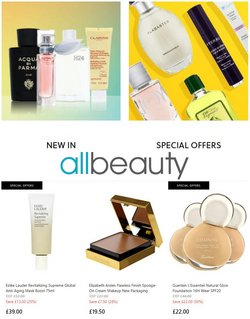 Pharmacy, Perfume & Beauty offers in the All Beauty catalogue ( Published today)