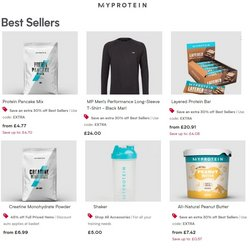 Sport offers in the My Protein catalogue ( 12 days left)