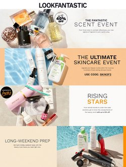 Pharmacy, Perfume & Beauty offers in the Look Fantastic catalogue ( Expires tomorrow)