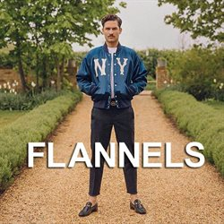Flannels offers in the Liverpool catalogue