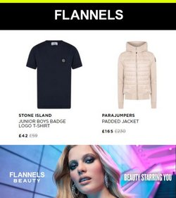 Flannels offers in the Flannels catalogue ( Expires today)