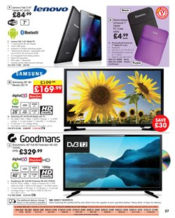 Tablet offers in the Studio catalogue in London