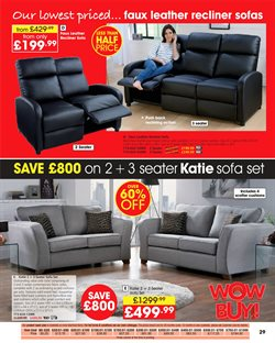 Sofa offers in the Studio catalogue in London