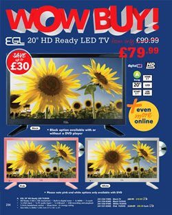 TV offers in the Studio catalogue in London