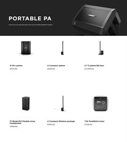 Wireless offers in the Bose catalogue in Stoke-on-Trent