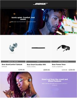 Bose offers in the Bose catalogue ( 4 days left)
