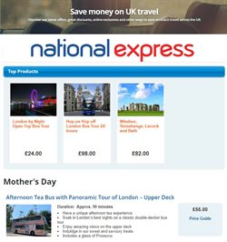 National Express catalogue ( 7 days left )