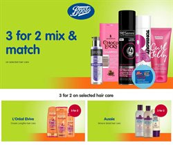 Pharmacy, Perfume & Beauty offers in the Boots catalogue in London