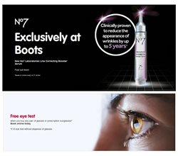 Boots offers in the Oxford catalogue