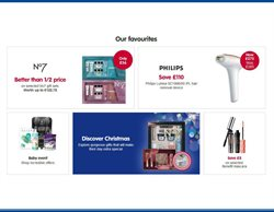 Mascara offers in the Boots catalogue in London