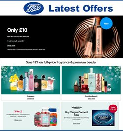 Pharmacy, Perfume & Beauty offers in the Boots catalogue in Lewisham