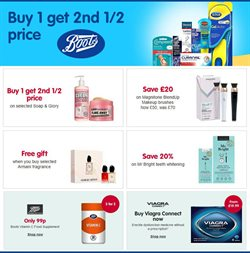 Pharmacy, Perfume & Beauty offers in the Boots catalogue in Aberdeen