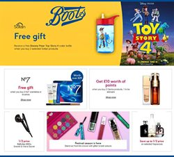 Boots offers in the Birmingham catalogue