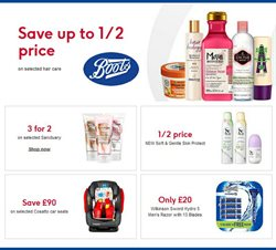 Pharmacy, Perfume & Beauty offers in the Boots catalogue in Warrington