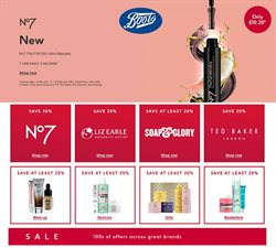 Pharmacy, Perfume & Beauty offers in the Boots catalogue in London ( 13 days left )
