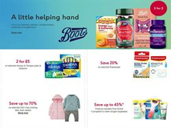 Pharmacy, Perfume & Beauty offers in the Boots catalogue in Coventry ( 13 days left )