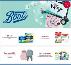 Pharmacy, Perfume & Beauty offers in the Boots catalogue in Swansea ( 15 days left )