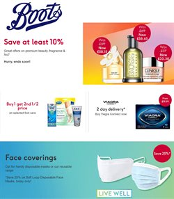 Pharmacy, Perfume & Beauty offers in the Boots catalogue in London ( 10 days left )