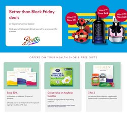 Pharmacy, Perfume & Beauty offers in the Boots catalogue ( Published today)