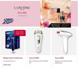 Boots offers in the Boots catalogue ( 11 days left)