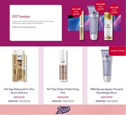 Pharmacy, Perfume & Beauty offers in the Boots catalogue ( 2 days left)