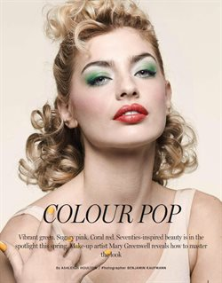 Makeup offers in the Harrods catalogue in London