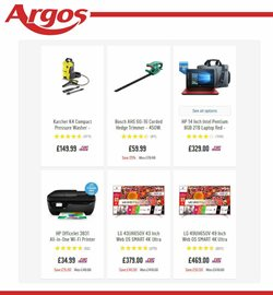 HP offers in the Argos catalogue in London