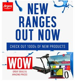 Department Stores offers in the Argos catalogue in Leicester