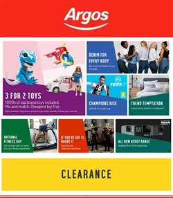 Argos offers in the Crawley catalogue