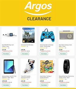 Argos offers in the London catalogue