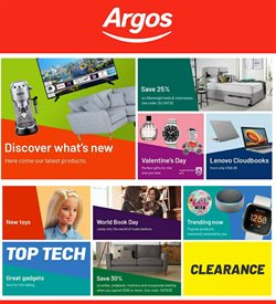 Department Stores offers in the Argos catalogue in Birkenhead ( 10 days left )