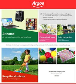 Department Stores offers in the Argos catalogue in Belfast ( 2 days ago )