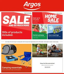 Department Stores offers in the Argos catalogue in Nottingham ( 27 days left )