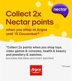 Department Stores offers in the Argos catalogue in Bury ( Expires today )