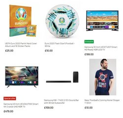 Samsung offers in the Argos catalogue ( Published today)