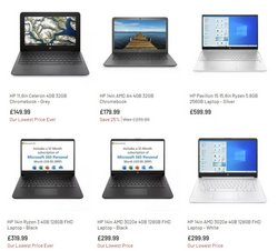 HP Store offers in the Argos catalogue ( Expires today)