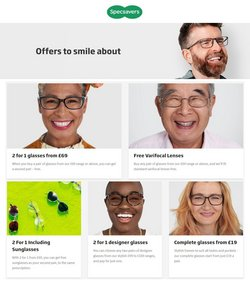 Specsavers offers in the Specsavers catalogue ( Expired)