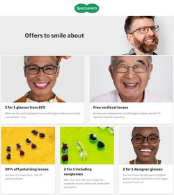 Pharmacy, Perfume & Beauty offers in the Specsavers catalogue ( Published today)