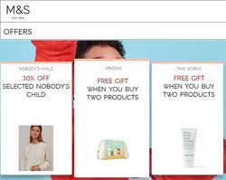 Marks & Spencer offers in the Marks & Spencer catalogue ( Expires tomorrow)