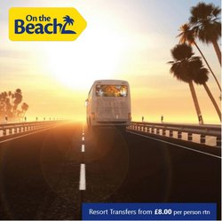 On The Beach offers in the On The Beach catalogue ( 4 days left)