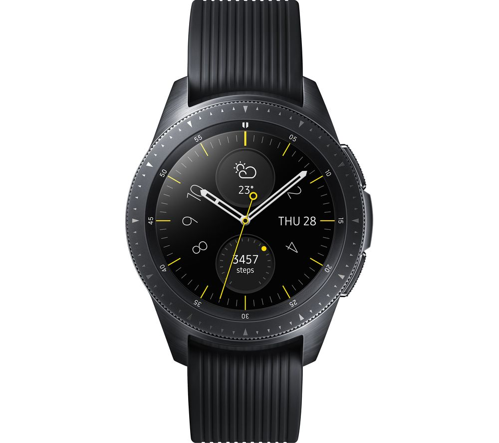 SAMSUNG Galaxy Watch - Midnight Black, 42 mm offer at £259
