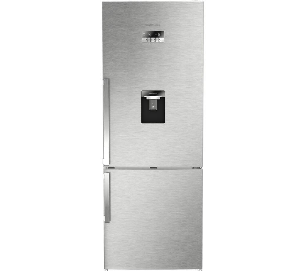 GRUNDIG GKN17920DX 60/40 Fridge Freezer - Stainless Steel offer at £629.99