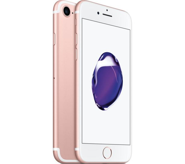 IPhone 7 - Rose Gold, 32 GB offer at £299