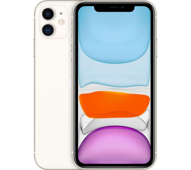 IPhone 11 - 64 GB, White offer at £599