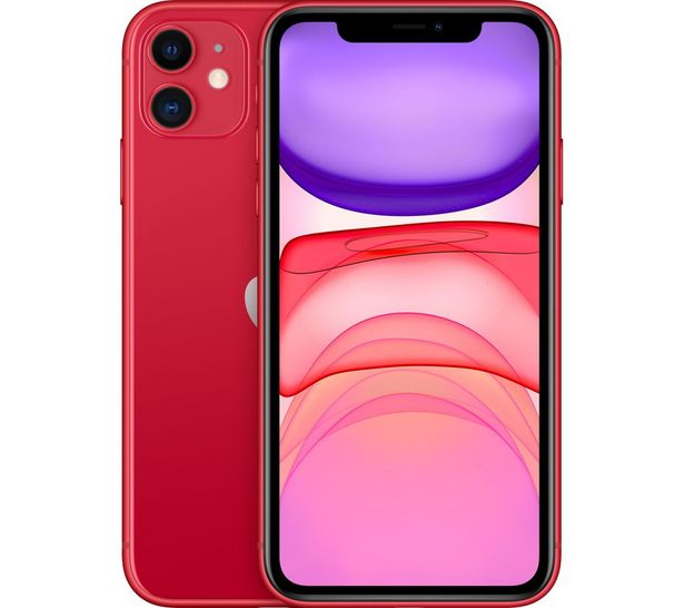 APPLE iPhone 11 - 64 GB, Red offer at £599