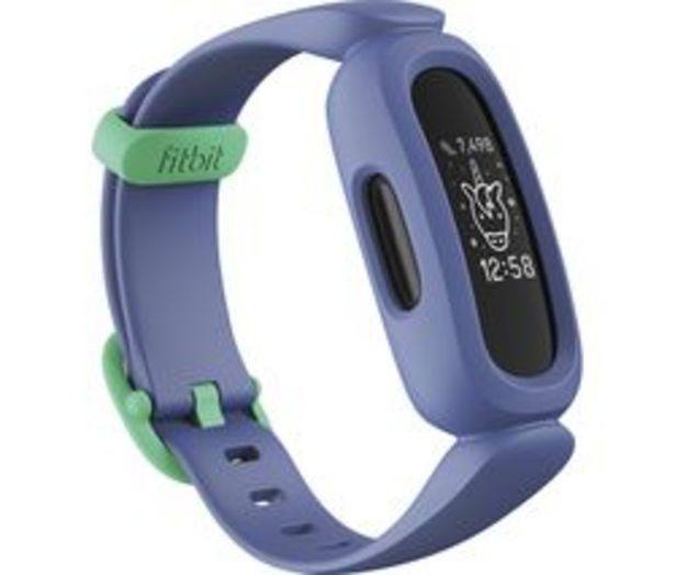 FITBIT Ace 3 Kid's Fitness Tracker - Blue & Green, Universal offer at £69.99